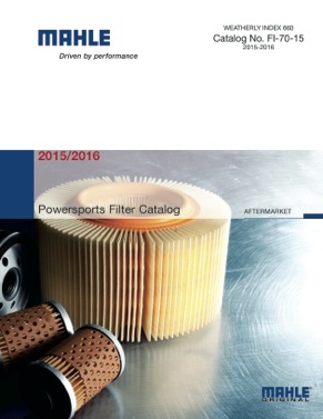MAHLE Aftermarket Releases First Powersports Filter Catalog -Shop Owner Magazine