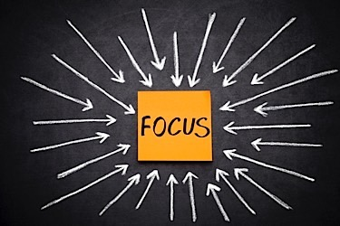 Focus graphic