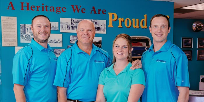 Pickering's Auto staff